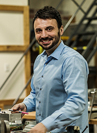 Alex Markovic, Manufacturing Engineering Manager